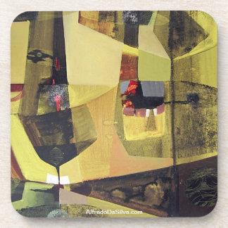 ポトシボリビア30x22.6の抽象的な景色 ドリンクコースター