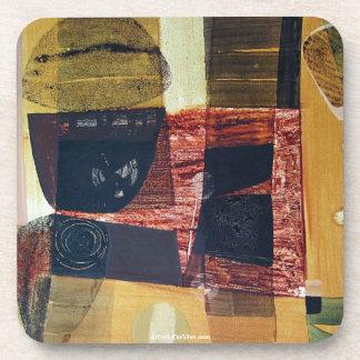 ポトシボリビア31.6x21.6の抽象的な景色 コースター