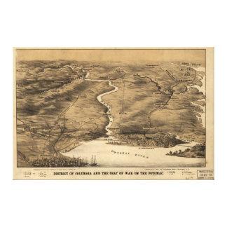 ポトマックの戦争の座席コロンビア特別区 キャンバスプリント