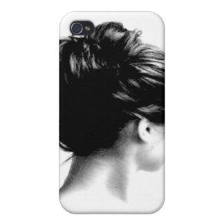 ポニーテールの女の子 iPhone 4/4S ケース
