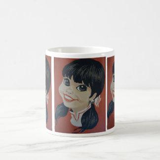 ポニーテール コーヒーマグカップ