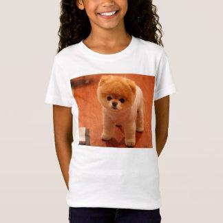 ポメラニア犬かわいい子犬スピッツpom犬pomの子犬 tシャツ