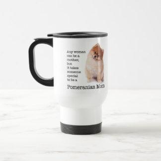 ポメラニア犬のお母さんのタンブラー トラベルマグ