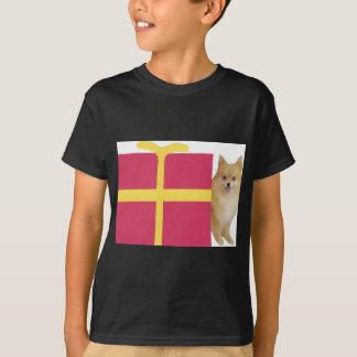 ポメラニア犬のギフト用の箱 Tシャツ