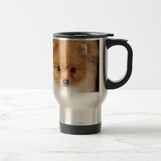ポメラニア犬のスピッツ トラベルマグ
