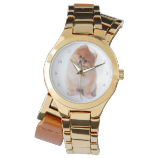 ポメラニア犬の腕時計 腕時計