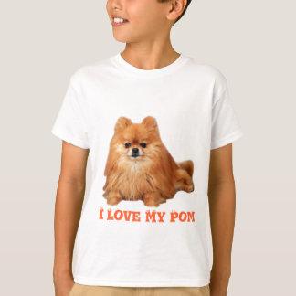 ポメラニア犬はTシャツをからかいます Tシャツ