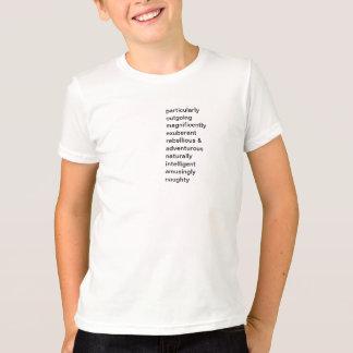 ポメラニア犬人格男の子のTシャツ Tシャツ