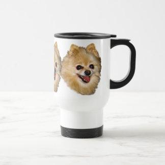 ポメラニア犬犬のカスタマイズ可能なタンブラー トラベルマグ