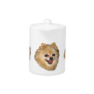 ポメラニア犬犬のカスタマイズ可能なティーポット