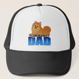 ポメラニア犬犬のパパ キャップ