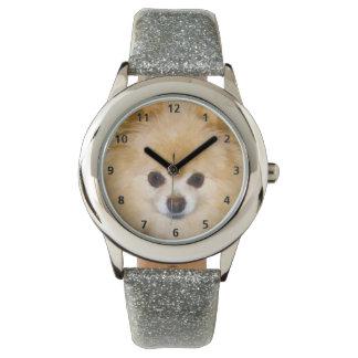 ポメラニア犬犬 腕時計