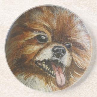 ポメラニア犬 コースター