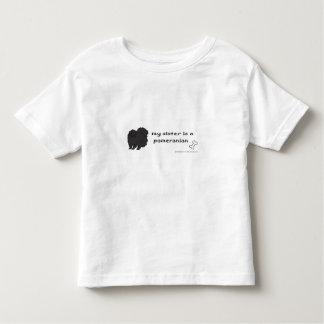 ポメラニア犬 トドラーTシャツ