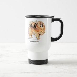 ポメラニア犬! トラベルマグ