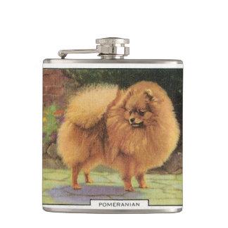 ポメラニア犬 フラスク