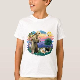 ポメラニア犬(3) Tシャツ