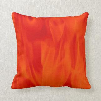 ポリエステル装飾用クッション16x16の赤の炎 クッション