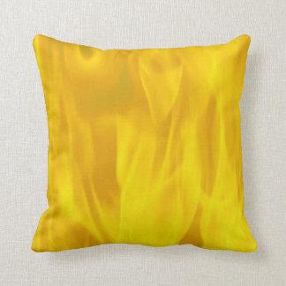 ポリエステル装飾用クッション16x16の黄色い炎 クッション
