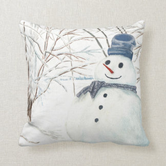ポリエステル装飾用クッション、雪だるまが付いている装飾用クッション クッション