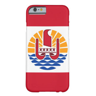ポリネシアの旗のiPhoneかSamsungは覆います Barely There iPhone 6 ケース