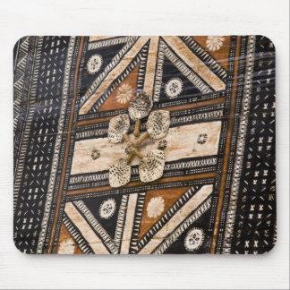 ポリネシア、トンガ王国。 樹皮布の詳細 マウスパッド