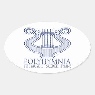 ポリュヒュムニア 楕円形シール