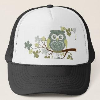 ポルカの木のフクロウの帽子 キャップ