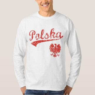 ポルスカのワシのスポーツのスタイル Tシャツ