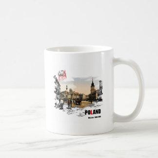 ポルスカ-ワルシャワ1980-1900年 コーヒーマグカップ