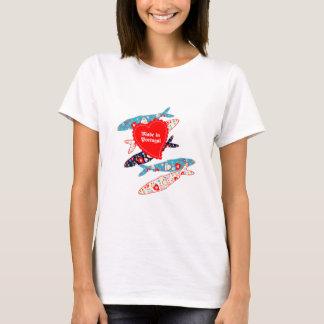 ポルトガルでなされるサーディン Tシャツ