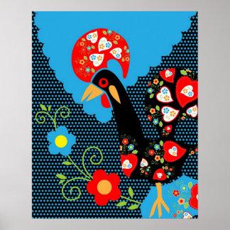 ポルトガルのオンドリ ポスター
