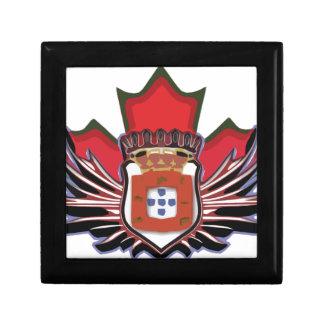 ポルトガルのカナダ色 ギフトボックス
