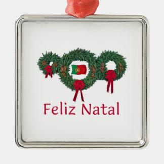 ポルトガルのクリスマス2 メタルオーナメント