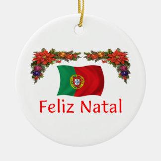 ポルトガルのクリスマス セラミックオーナメント