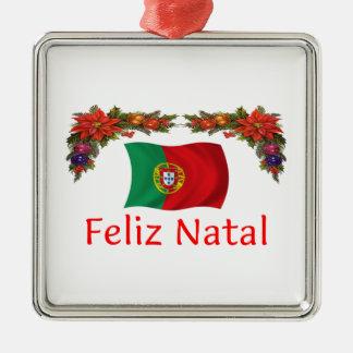 ポルトガルのクリスマス メタルオーナメント