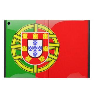 ポルトガルのクールな旗のカラフルな国の国籍f iPad airケース