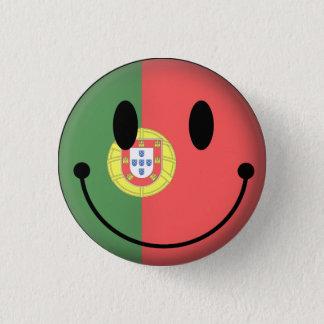 ポルトガルのスマイリー 3.2CM 丸型バッジ