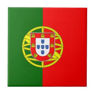 ポルトガルのセラミックタイルの旗 タイル