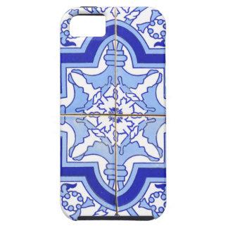 ポルトガルのタイルの青および白 iPhone SE/5/5s ケース