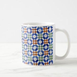 ポルトガルのタイル コーヒーマグカップ