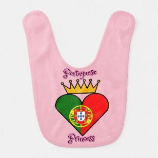 ポルトガルのプリンセスのよだれかけ ベビービブ