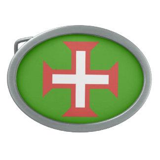 ポルトガルの十字のベルトの留め金 卵形バックル