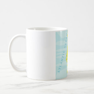 ポルトガルの地図が付いているマグ コーヒーマグカップ