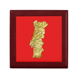 ポルトガルの地図のギフト用の箱 ギフトボックス