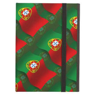 ポルトガルの振る旗 iPad AIRケース