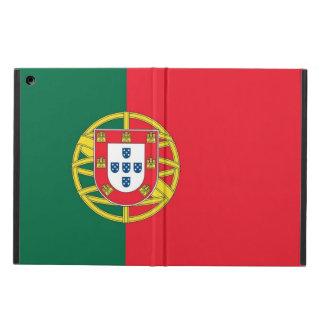 ポルトガルの旗との愛国心が強いipadの場合 iPad airケース