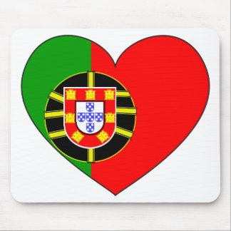 ポルトガルの旗のシンプル マウスパッド