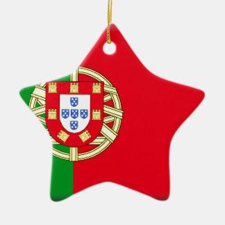 ポルトガルの旗 セラミックオーナメント