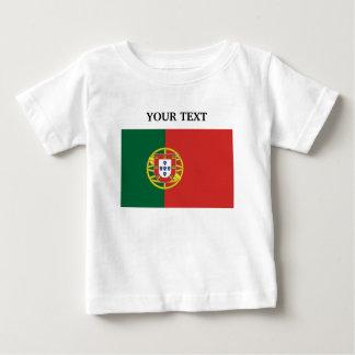 ポルトガルの旗 ベビーTシャツ